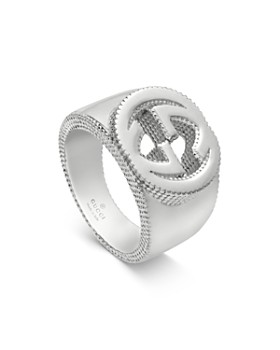 e00d6a27b Gucci - Sterling Silver Interlocking G Ring