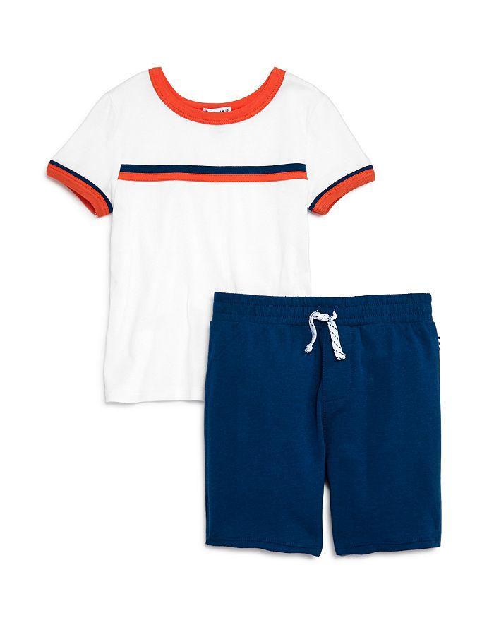 Splendid - Boys' Striped Tee & Shorts Set - Little Kid