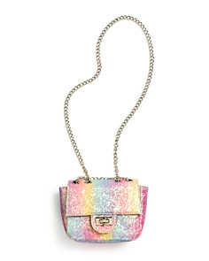 GiGi - Girls' Rainbow Sparkle Handbag