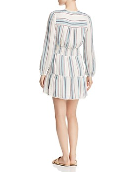 Rahi - Redond Sur Striped Mini Dress