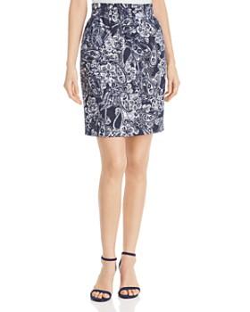 b30e63a4aa792d DKNY - Paisley-Print Pencil Skirt ...