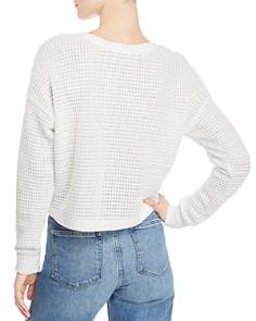 Splendid - Waffle-Knit Sweater