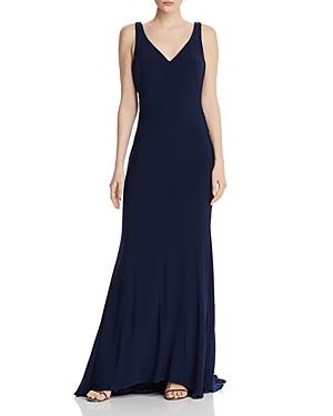 Mac Duggal Embellished Jersey Gown-Women