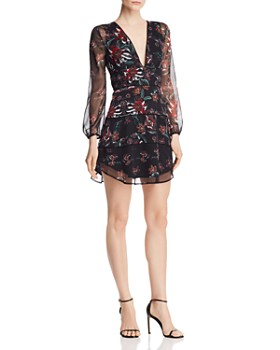 SAU LEE - Nola Floral Mini Dress