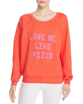 WILDFOX - Sommers Love Me Like Pizza Sweatshirt