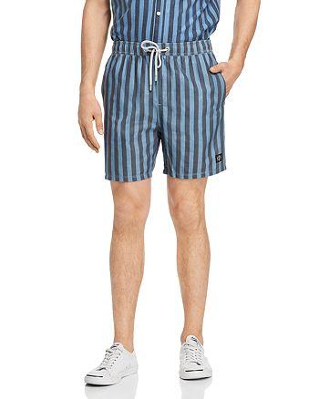 Zee Gee Why Denim - Striped Beach Shorts