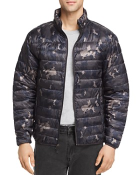 Hawke & Co. - Camouflage-Print Lightweight Packable Puffer Jacket