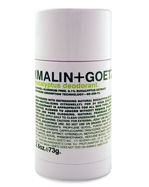 Malin and Goetz Eucalyptus Deodorant 2.6 oz.