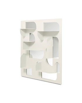 "Umbra - Bend Mirror & Shelf, 24"" x 24"""