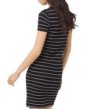 9955a0dc9d1 ... MICHAEL Michael Kors - Striped Scalloped Mini Dress