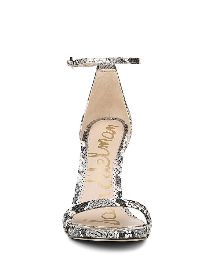 1781a4a05864 Sam Edelman Women s Ariella High-Heel Ankle Strap Sandals ...