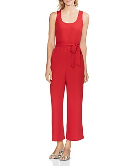 VINCE CAMUTO - Sleeveless Wide-Leg Jumpsuit