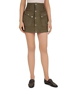 The Kooples - Military Mini Skirt