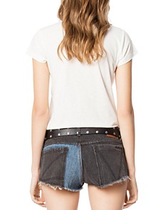 Zadig & Voltaire - Festival Graphic Skinny Tee