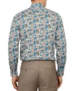 Ted Baker - Tropica Leaf Print Phormal Slim Fit Shirt