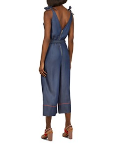 Ted Baker - Colour by Numbers Pilco Chambray Jumpsuit