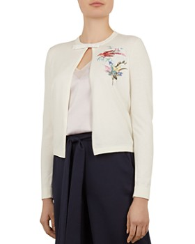 Ted Baker - Inygen Fortune Embroidered Cardigan