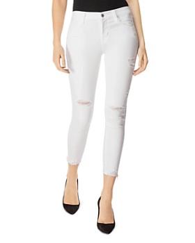 J Brand - 835 Mid Rise Crop Skinny Jeans in Zealous