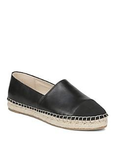 Sam Edelman - Women's Krissy Leather Espadrille Flats
