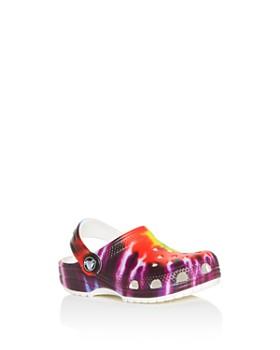 Crocs - Unisex Classic Tie-Dye Clogs - Walker, Todder, Little Kid