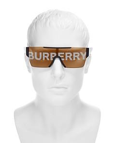 Burberry - Men's Runway Mirrored Shield Sunglasses, 135mm