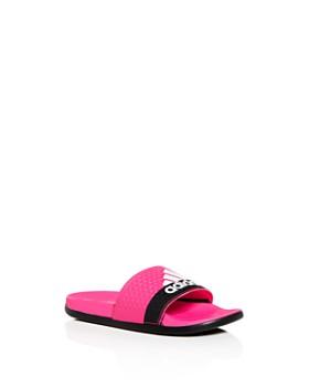 Adidas - Girls' Adilette Comfort Slide Sandals - Toddler, Little Kid, Big Kid