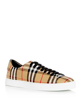 2439535d440aa Burberry - Men s Albert Vintage Check Low-Top Sneakers ...