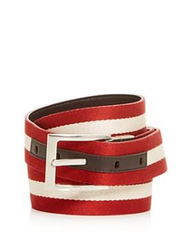 Bally - Men's Stripe Reversible Belt