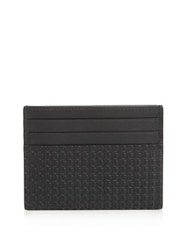 Salvatore Ferragamo - Mini Gancini Leather Card Case