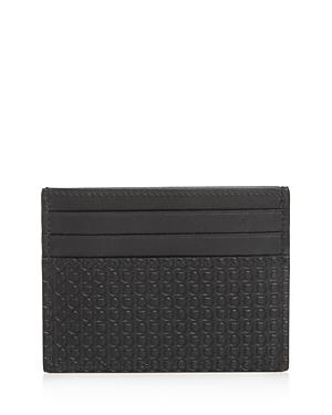 Salvatore Ferragamo Mini Gancini Leather Card Case
