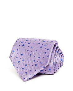 The Men's Store at Bloomingdale's - Floral Dot Classic Tie - 100% Exclusive