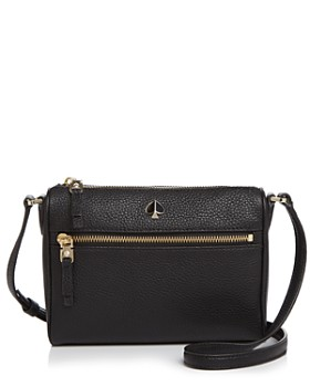 0bb3ff0b796c kate spade new york - Small Zip-Front Leather Crossbody ...
