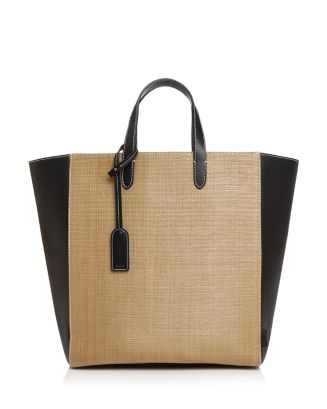 Day Straw & Leather Tote by Vasic