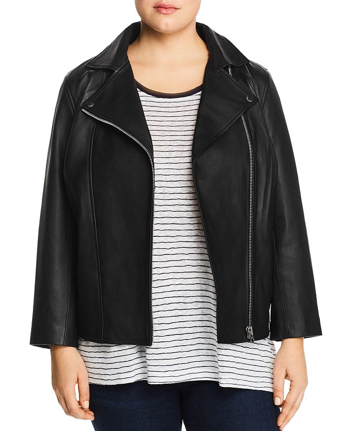 All 67 Plus - Leather Moto Jacket