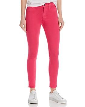 Hudson - Barbara Ankle Skinny Jeans in Fuschia