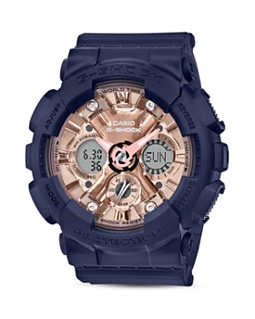 G-Shock - S Series Rose-Gold Dial Watch, 58.5mm