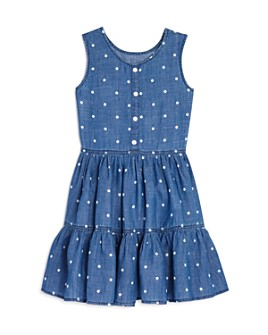 Rails - Girls' Katie Polka-Dot Chambray Dress - Little Kid, Big Kid