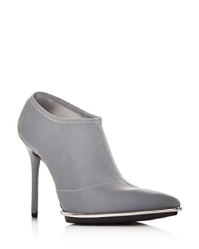 Alexander Wang - Women's Cara Reflective High-Heel Booties