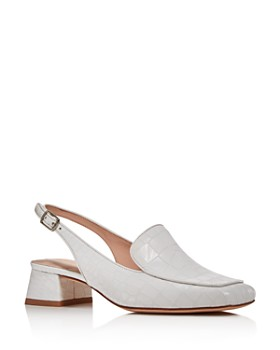 kate spade new york - Women's Sahiba Block Heel Slingback Loafers