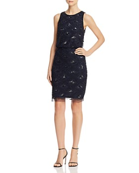 Adrianna Papell - Embellished Sleeveless Dress