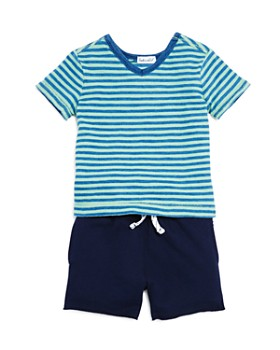 d36062169b5a Splendid - Boys' Striped V-Neck Tee & Shorts Set - Baby ...