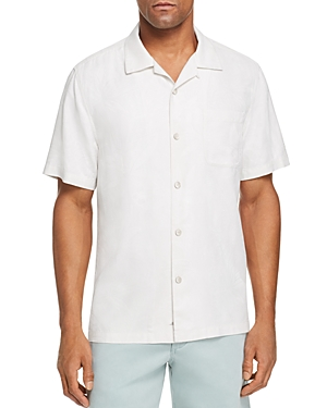 Tommy Bahama Al Fresco Tropics Short-Sleeve Classic Fit Jacquard Shirt-Men