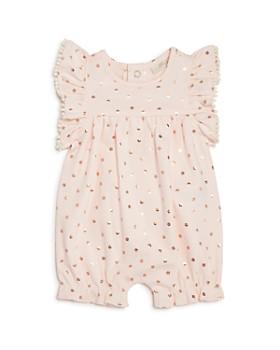 Miniclasix - Girls' Flower Ruffle Romper - Baby