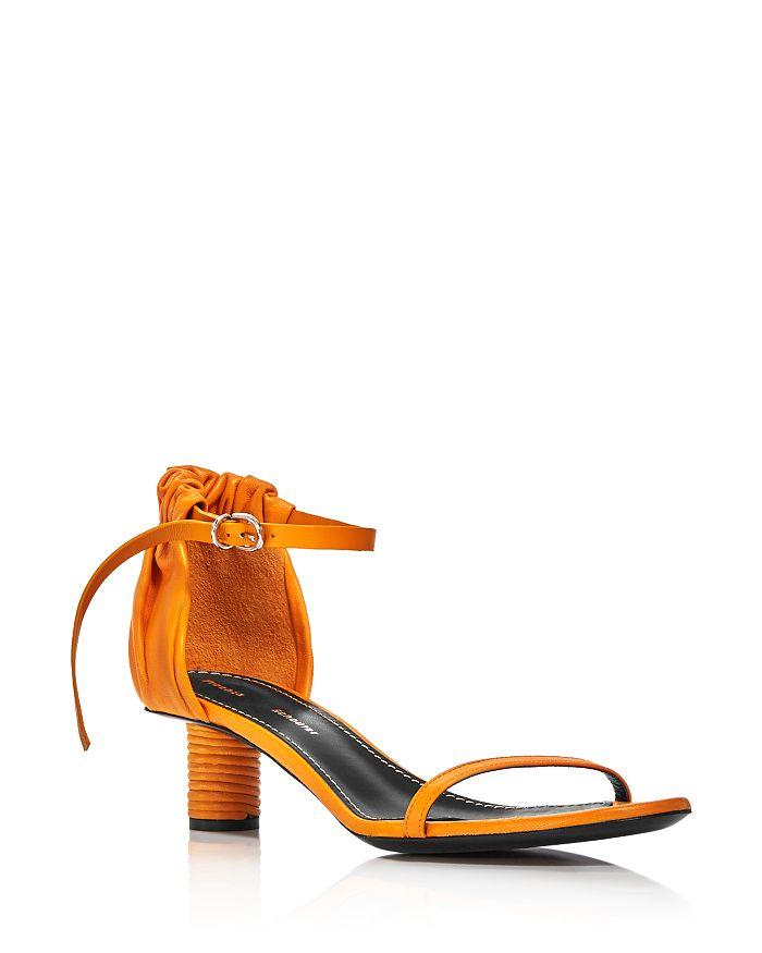 Proenza Schouler - Women's Ruffled Round Heel Sandals