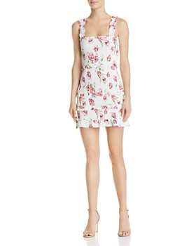 Parker - Laurel Smocked Floral Dress