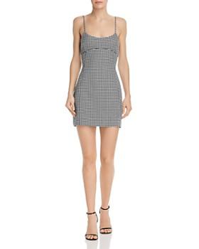 Bec & Bridge - French Liason Houndstooth Mini Dress