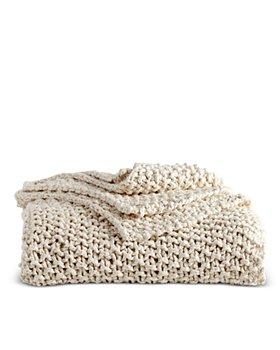 DKNY - PURE Chunky Knit Throw