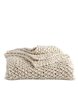 DKNY - PURE Chunky Knit Throw