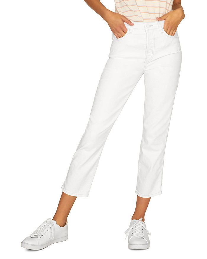 Sanctuary - Cropped Jeans in Angeleno White