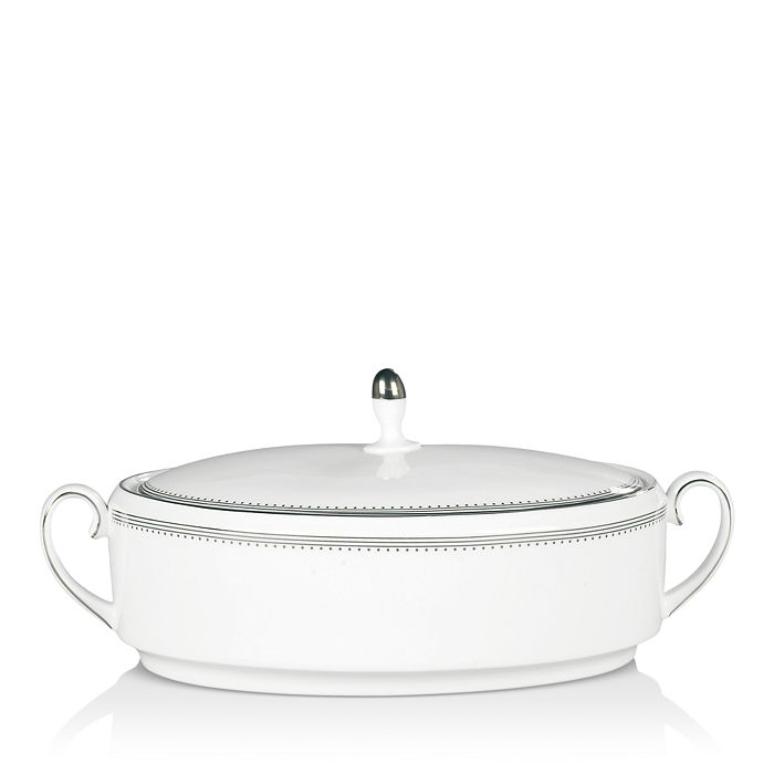 Wedgwood - Grosgrain Covered Vegetable Bowl